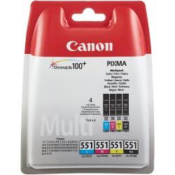 CANON MULTIPACK CLI-551 C/M/Y/K